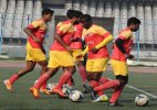 East Bengal play I-League match before empty stands