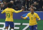 Neymar and Willian shine as Brazil beats France 3-1