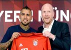 Bayern Munich signs Chile midfielder Arturo Vidal