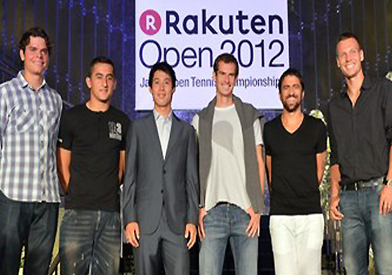 Berdych, Tipsarevic, Raonic in  Japan Open quarters