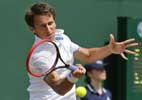 Federer's 2013 Wimbledon conqueror beats Gulbis
