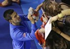 Australian Open 2015: Djokovic's No. 1 fan