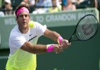 Del Potro loses 1st-round match at Miami Open