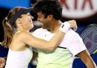 Wimbledon: Paes-Hingis cruise into mixed doubles quarters
