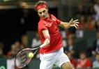 Davis Cup: Federer wins, Switzerland leads Italy 1-0