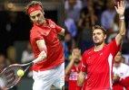 Davis Cup: Switzerland leads Italy 2-0