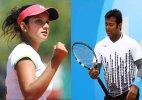 US Open: Sania in mixed doubles semis, Paes out