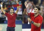 Djokovic, Federer set up Shanghai semifinal