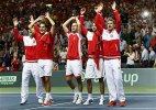 France to host Switzerland on clay in Davis Cup final