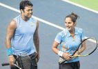 Sania not thinking of partnering Leander in Olympics