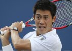 Nishikori crashes out in US Open first round