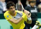 Bellucci helps Brazil level Davis Cup playoff