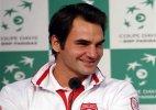 Federer's back is key in Davis Cup final
