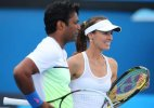 Wimbledon: Paes-Hingis and Sania-Soares advance, Rohan Bopanna out
