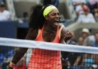 US Open 2015: Serena Williams puts aside slow start to reach 3rd round