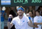 Argentina takes 1-0 lead vs Israel in Davis Cup