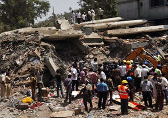 Two builders held for Thane building collapse