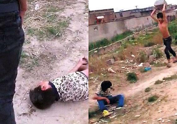 Shocking: Chinese gang strips, urinates on 13-year-old