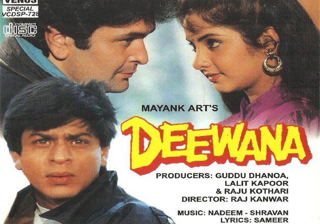 Rarely known facts about Shahrukh Khan's debut movie Deewana ...