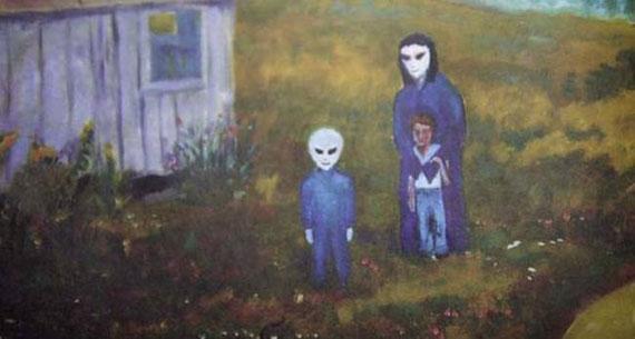 Risultati immagini per David Huggins, aliens